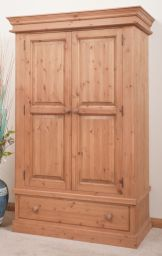шкаф деревянный низкий Антайбез