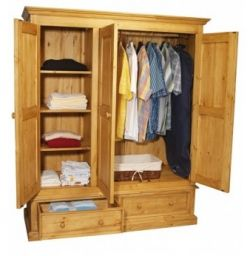 платяной шкаф деревянный Бигунмах