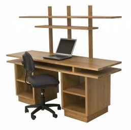 стол из дерева в домашний кабинет Бертасел