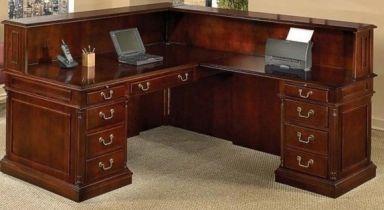 стол деревянный офисный Шарден