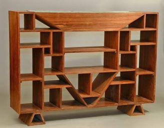стеллаж деревянный Дервента