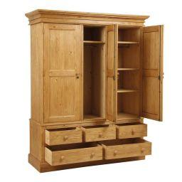 деревянный шкаф для спальни Тилобоз