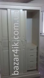 шкаф купе из дерева Тинбудма