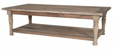 кофейный столик из дерева Риверман