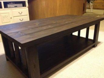 кофейный столик из дерева Морисет