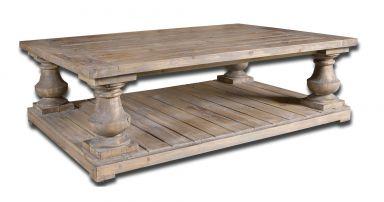 кофейный столик деревянный Пауэл