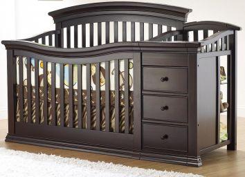 детская кровать трансформер из дерева Лонрик