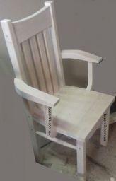 стул из дерева с подлокотниками Юлари