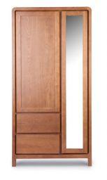 шкаф 2дв зеркало