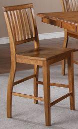стул барный из дерева Кендис