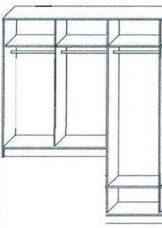 шкаф деревянный Пантеон