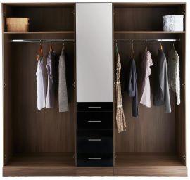 деревянный шкаф Дивотен