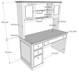 стол с надставкой Фламини