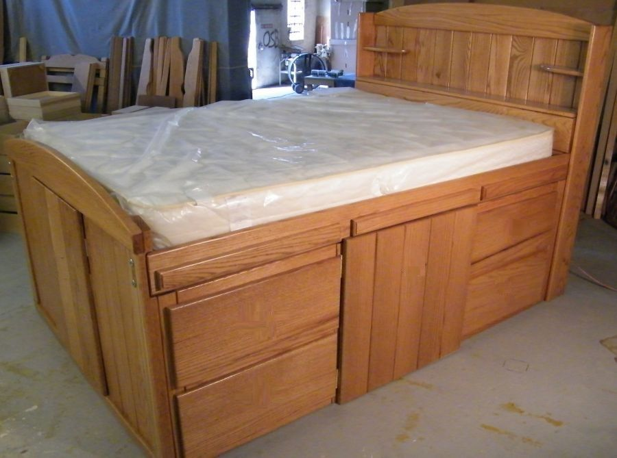Platform Beds  Contempo Space  Modern Beds With Drawers