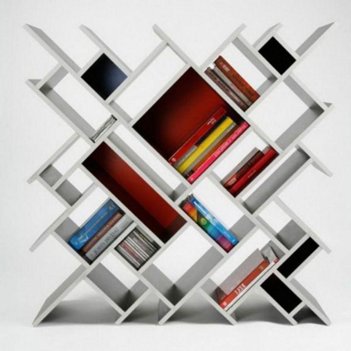 Невероятные полки для книг - 3dray.ru.