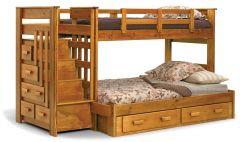 двухъярусная кровать из дерева Бонн Плюс