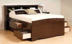 кровать из дерева Рокфеллер +выбор стороны/количества ящиков