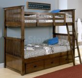 деревянная двухъярусная кровать Аполлон
