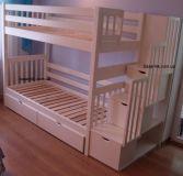 Кровать двухъярусная Артигас (на складе белая)