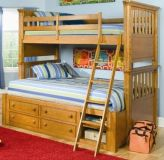 кровать двухъярусная детская Эльбрус