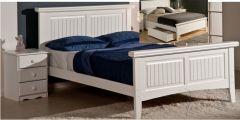 Кровать деревянная Джейси ДеЛюкс +/-ящики; варианты изголовья, изножья