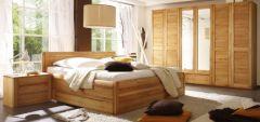 Кровать деревянная Амазонка +варианты ящиков/высоты изголовья; изножья