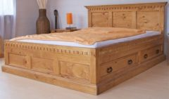 деревянные кровати Жак +варианты изголовья+ящик