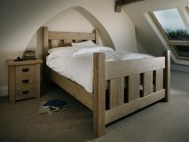 Кровать из дерева Троя *спинки
