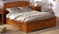 Кровать деревянная Романтика