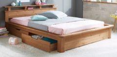 кровать из дерева Зеландия +тумба справа/слева