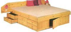двуспальная кровать МакЛарен + выбор тумб