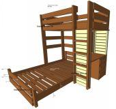 кровать двухъярусная Буфлстанд