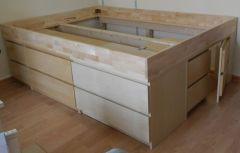 кровать деревянная Эврика