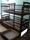 двухъярусная кровать Карина Люкс ясень+панели