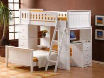 детские двухъярусные кровати Линкольн