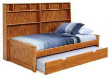 односпальная кровать Мичез (изголовье-стеллаж)