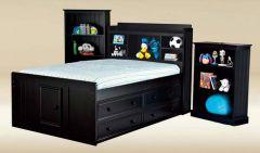 односпальная кровать с ящиками Штайнц