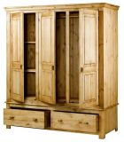 деревянный платяной шкаф Субредиво