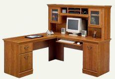 стол угловой из дерева Альберт